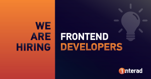 We are hiring FRONTEND Developers